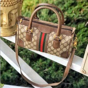 Gucci Sherry Line Boston bag Speedy 2 Way Satchel